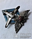 Знак Школа пилотов 9 ВВС РККА, СССР, копия, №447, фото №11