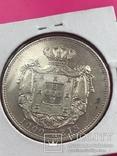 1000 рейсов 1899 Португалия серебро, фото №3