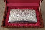 Серебряная колониальная шкатулка., фото №2