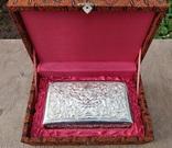 Серебряная колониальная шкатулка., фото №12