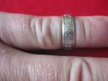 Кольцо Спаси и сохрани, серебро, 925, 3.6 грамм, фото №7