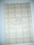 УССР,отрезные купоны,лист 100 крб,ноябрь, фото №2
