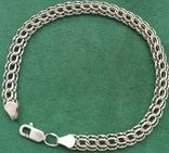 Браслет серебро, фото №2