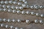 Шикарное ожерелье из жемчуга с красивой застежкой! фото 2