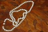 Шикарное ожерелье из жемчуга с красивой застежкой! фото 4