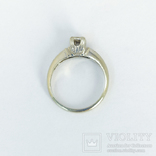 Золотое помолвочное кольцо с бриллиантом, фото №5
