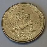 Східні Карибські Штати 10 центів, 2000