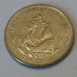 Східні Карибські Штати 10 центів, 2004