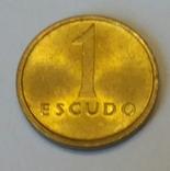 Португалія 1 ескудо, 1985