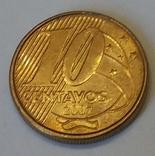 Бразилія 10 сентаво, 2007