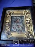 Старинная икона в окладе, фото №2