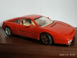 Ferrari 348 tb bburago 1989год Italy, фото №2