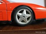 Ferrari 348 tb bburago 1989год Italy, фото №3