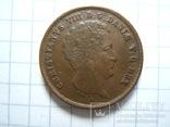 Дания 1 ригсбанкскиллинг 1842 г. VS KM#726, фото №8