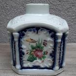 Чайница (флакон парфюмерный?) Российская империя(?),, фото №4