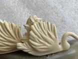 Статуэтка из рога и кости Лебеди, фото №7