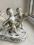 Статуэтка Карета Германия довоенная старая статуэтка номерная, фото №3