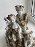 Статуэтка Карета Германия довоенная старая статуэтка номерная, фото №7