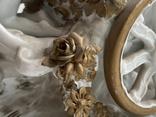 Статуэтка Карета Германия довоенная старая статуэтка номерная, фото №12