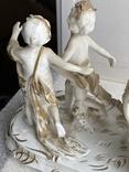 Статуэтка Карета Германия довоенная старая статуэтка номерная, фото №13