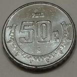 Мексика 50 сентаво, 2013