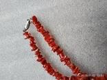 Коралловые бусы, фото №3