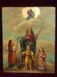 Икона Вера, Надежда, Любовь и Мать их София, фото №2