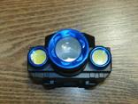 Аккумуляторный Налобный фонарик Police BL-608-T6,Диод CREE-T6,акк. 18650, фото №3