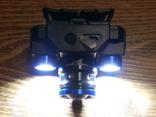 Аккумуляторный Налобный фонарик Police BL-608-T6,Диод CREE-T6,акк. 18650, фото №6