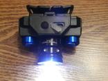 Аккумуляторный Налобный фонарик Police BL-608-T6,Диод CREE-T6,акк. 18650, фото №7