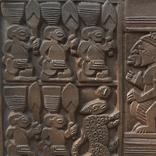 Керамическая табличка-панно Африка, фото №3