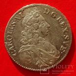 1 марка, Швеция, 1688 год,, фото №2