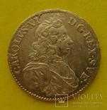 1 марка, Швеция, 1688 год,, фото №3