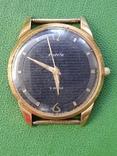 Часы Ракета черный циферблат AU20 рабочие, фото №2