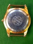 Часы Ракета черный циферблат AU20 рабочие, фото №6