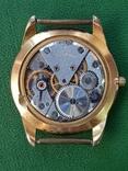 Часы Ракета черный циферблат AU20 рабочие, фото №10