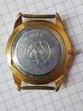 Часы Ракета черный циферблат AU20 рабочие, фото №13
