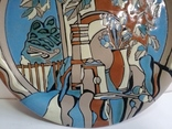 Настенная тарелка ЛКСФ, фото №10