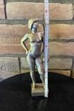 Скульптура авторськая, Девушка с мячом, фото №7