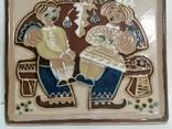 Настенная тарелка ЛКСФ, фото №9