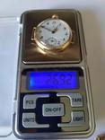 Старинные золотые часы Оmega. На ходу, фото №6