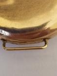 Старинные золотые часы Оmega. На ходу, фото №8