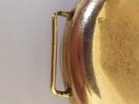 Старинные золотые часы Оmega. На ходу, фото №9