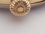 Старинные золотые часы Оmega. На ходу, фото №10
