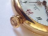 Старинные золотые часы Оmega. На ходу, фото №11