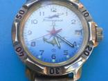 Часы,командирские,с браслетом на увереном ходу,, фото №2