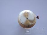 Оригинальный циферблат, механизм на золотые Полет 1МЧЗ, фото №10