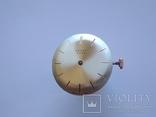 Оригинальный циферблат, механизм на золотые Полет 1МЧЗ, фото №11