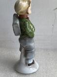 Статуэтка Мальчик с рюкзаком Германия, фото №8