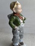 Статуэтка Мальчик с рюкзаком Германия, фото №9